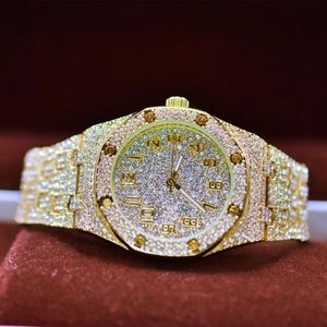 0ca69d1c9 Other - Full Iced Out Octagon Shape Luxury Watch